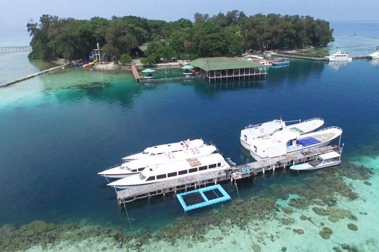 ジャカルタから1時間30分!プラウスリブにあるプトゥリ島ツアー