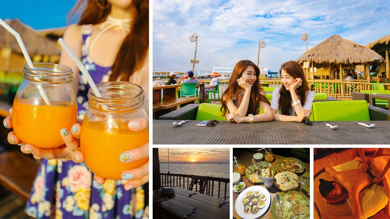 マリガヤスパ&海上レストランディナー