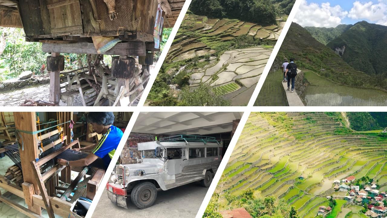 【マニラ発1泊】天国へ昇る階段バナウエ1泊3日ツアー [世界遺産フィリピン・コルディリェーラの棚田群]