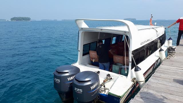 ジャカルタから1時間30分!プラウスリブにあるセパ島ツアー
